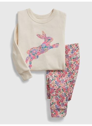 Gap Tavşan Desenli Pijama Takımı Pembe
